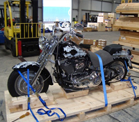 Caribbean to Caribbean Motorcycle Shipping